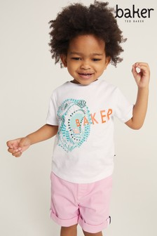 Baker by Ted Baker Younger Boy Graphic T-Shirt