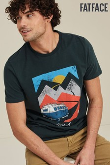 FatFace Beetle VW Paper Mountains T-Shirt