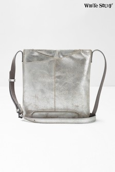 White Stuff Metallic Mini Issy Envelope Cross Body Bag