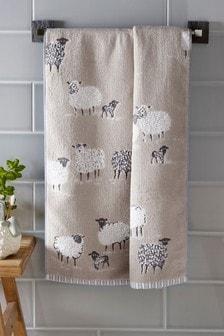 מגבת כבשים