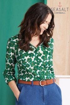 Seasalt Green Larissa Shirt
