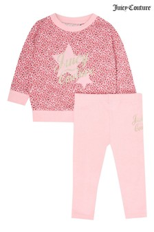 Juicy Couture Print Sweat & Legging Set