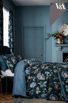 Everlasting Bloom Duvet Cover and Pillowcase Set