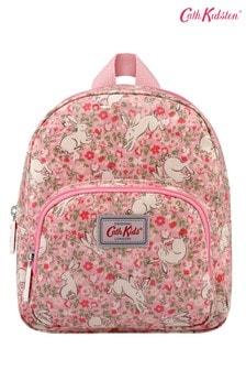 Розовый детский маленький рюкзак Cath Kidston® Jumping Bunnies