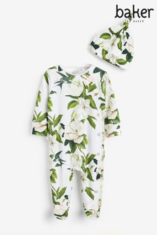 Baker by Ted Baker Baby Girls Floral Sleepsuit Set
