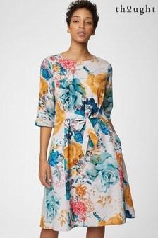 שמלת Giardino בצבע לבן שלThought