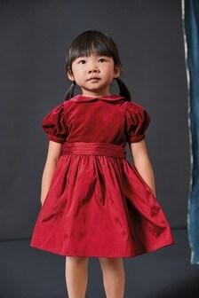 Нарядное платье из тафты (3 мес.-7 лет)