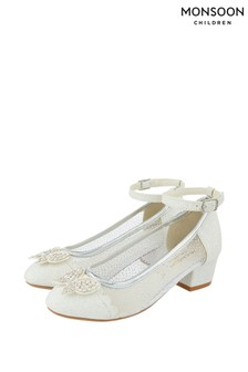 Chaussures Monsoon Amelia Princess motif papillon