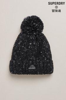 כובע גרב של Superdry דגם Lacie בסריגת צמות