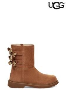 UGG® Chestnut Tillee Bows Kids Boots