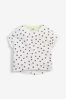 Voľné tričko z biobavlny (3 – 16 rok.)