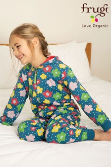Frugi GOTS Organic Floral All-In-One