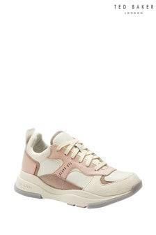 נעלי ספורט צ'אנקי של Ted Baker בצבע ניוד