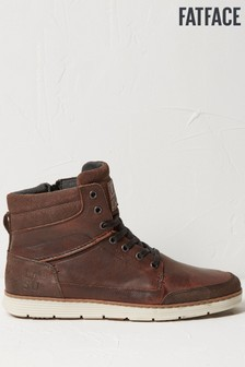 FatFace Brown Newport Hybrid Boots