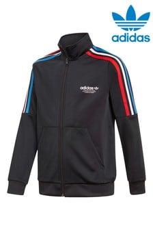 Черный спортивный топ Adidas Originals