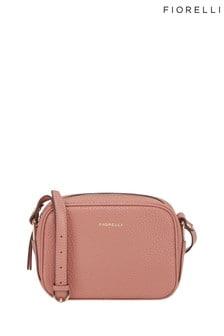 Розовая сумка с длинным ремешком Fiorelli Beau