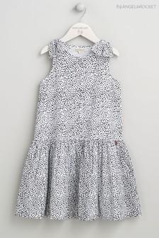 Angel & Rocket Black Mini Spot Dress