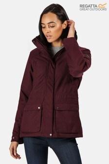 Regatta Purple Loretta Waterproof Jacket
