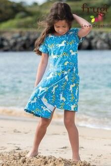 Frugi GOTS Organic Printed Skater Dress