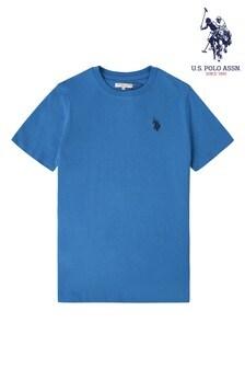 تي شيرت أزرق جيرسيه كلاسيكي منU.S. Polo Assn