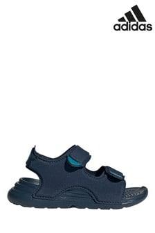 Sandales de bain adidas bleu marine