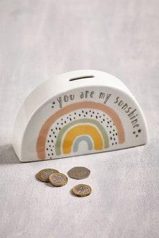 Rainbow Ceramic Moneybox