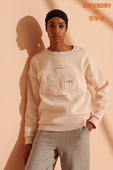 Superdry Established Sweatshirt mit Rundhalsausschnitt