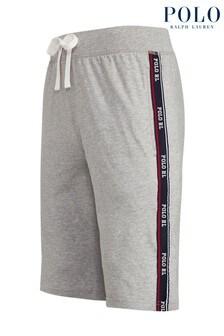 Pantalones cortos de punto con detalle de cintas en el logo de Polo Ralph Lauren