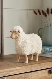 White Sadie The Sheep Ornament