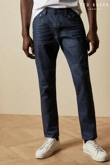 Ted Baker smal toelopende denim Tapice jeans