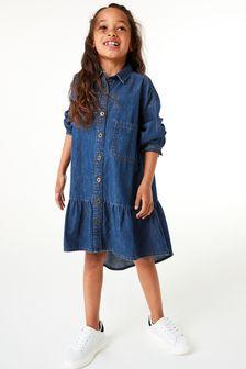 Relaxed Shirt Dress (3-16yrs)