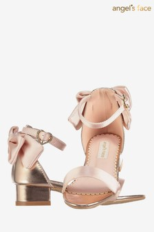 Angel's Face Pink Elsa Heels Sandals