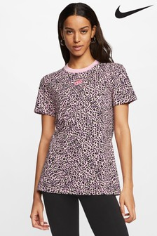 Nike T-Shirt mit Animalprint