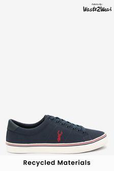 Парусиновые кроссовки с оленями Waste2Wear