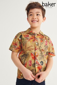 Baker by Ted Baker Safari Print Shirt