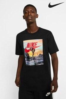Черная футболка Nike Festival