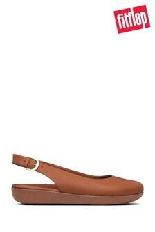 Zapatos marrones con tira posterior Sarita de FitFlop™