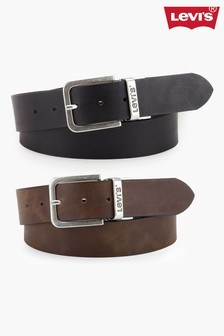Levi's® Brown Reversible Belt