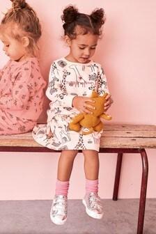 Комплект из юбки и топа со сплошным принтом (3 мес.-7 лет)