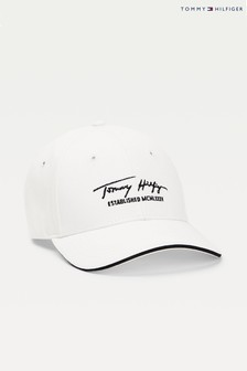 Tommy Hilfiger Signature Cap, Weiß