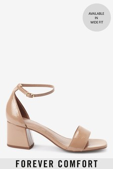 Forever Comfort® Simple Block Heel Sandals
