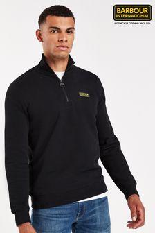 Barbour® International 拉鍊領衛衣
