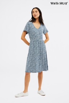 White Stuff Multi Canyon Jersey Dress