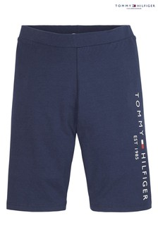 Tommy Hilfiger Blue Essential Cycling Shorts