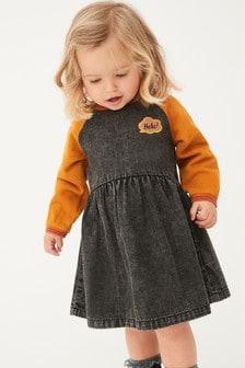 فستان بكم راجلان (3 شهور -7 سنوات)