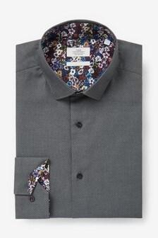 قميص تفاصيلة حاشية
