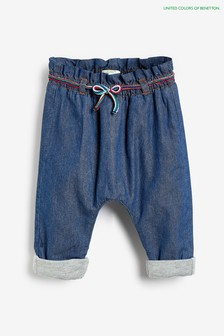 Benetton Blue Pocket Denim Jeans