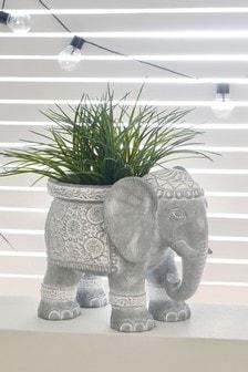 Горшок для растений в виде слона