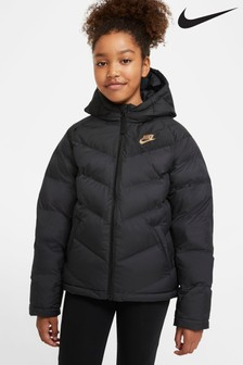 Nike Black/Gold Padded Jacket