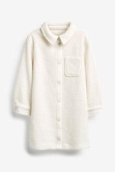 Nachthemd mit Hemdjacke aus Fleece (3-16yrs)